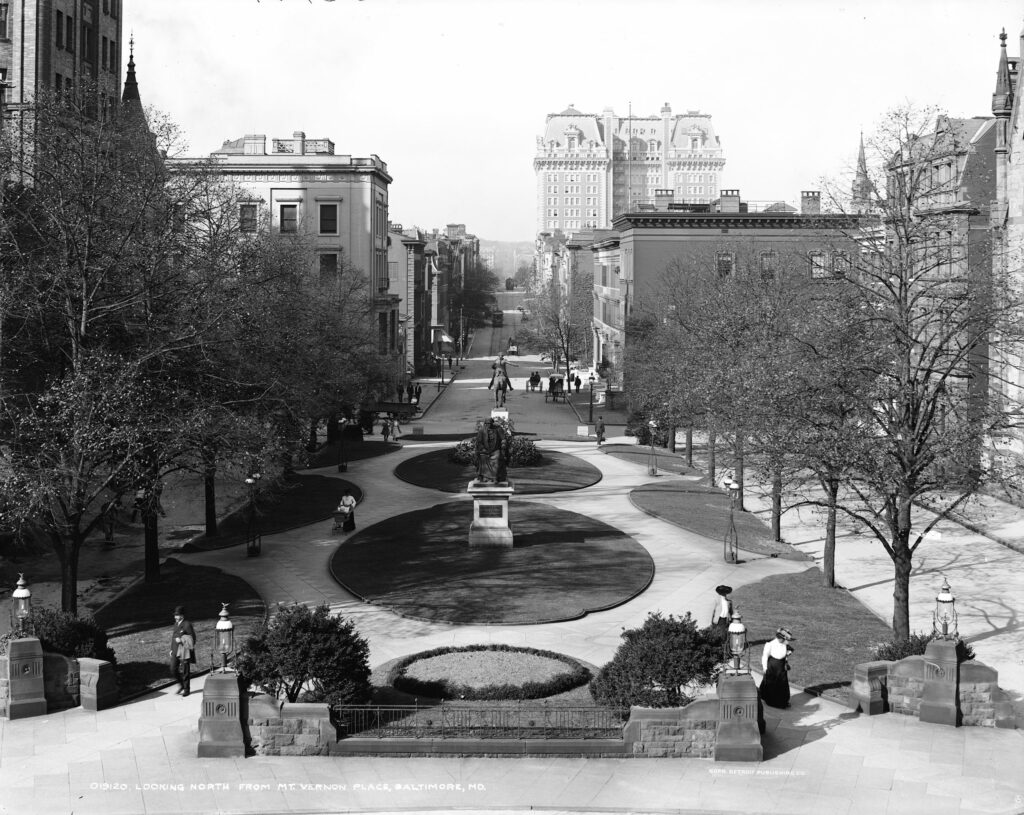 Mt. Vernon Place in 1906