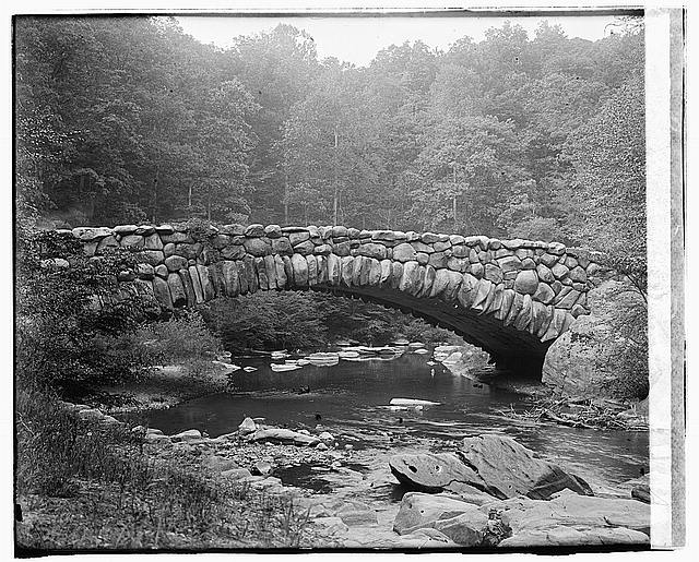 Then and Now: Boulder Bridge, Rock Creek Park ... and Meet Lansing H. Beach