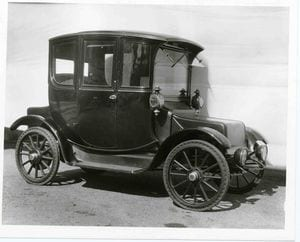 What Happened to the Electric Car? Buy a Rauch and Lang Coupe (1909)