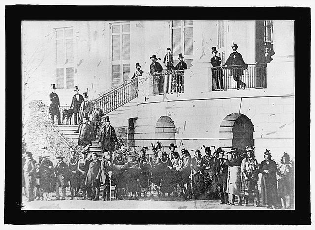 Native Americans at the White House