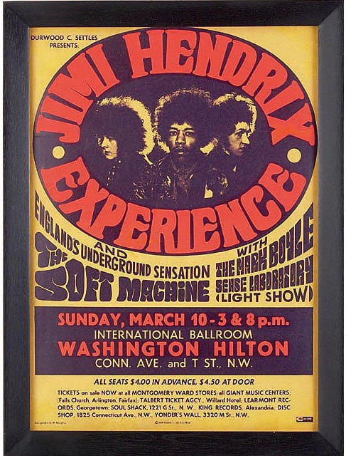 Hendrix Plays the Washington Hilton (1968)