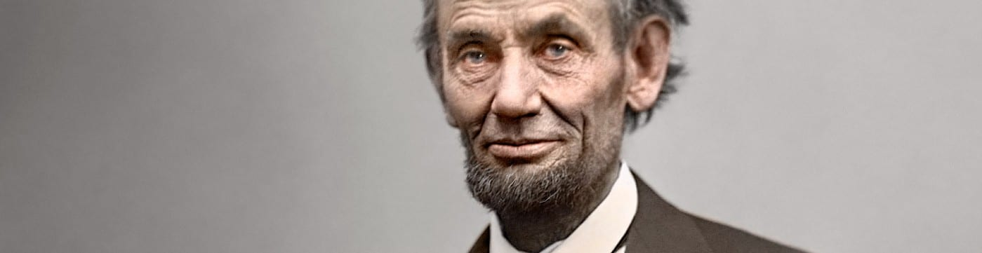 Lincoln in color (1865)
