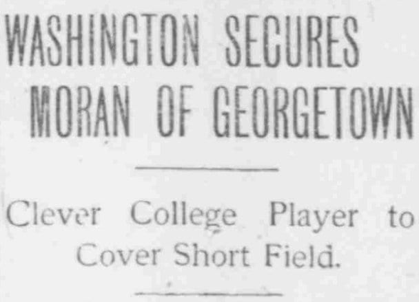 Washington Times Headline (1902)