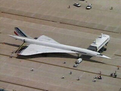 Air France Concorde at Dulles Airport