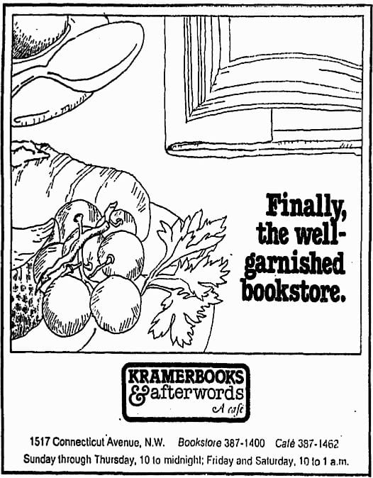 Kramerbooks & Afterwords, a Cafe (1976)