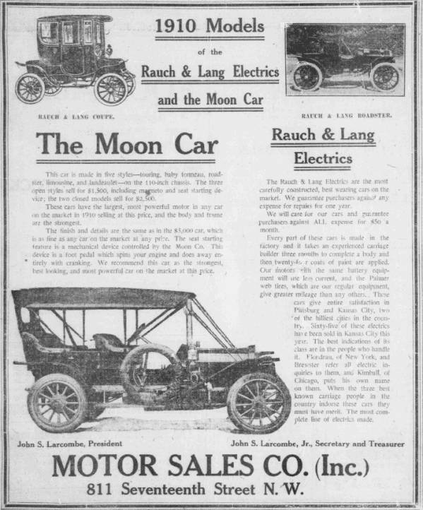 Ad for Rausch & Lang Coupler (1909)