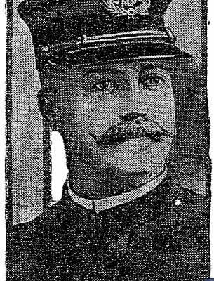 Popular Lieutenant Sprinkle of the 5th precinct (1914)