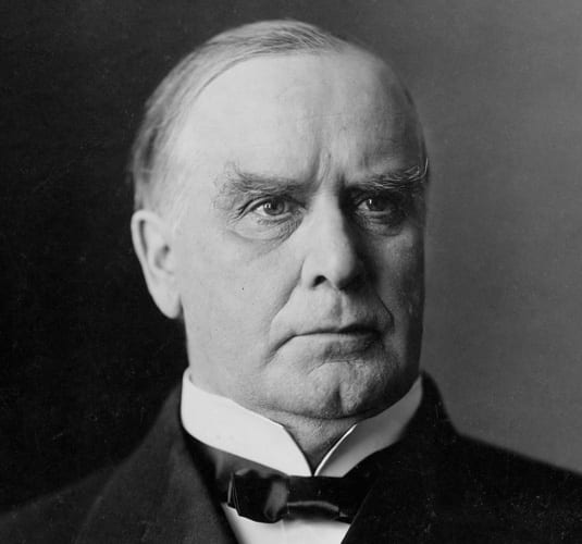 President William McKinley portrait