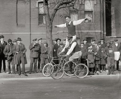 A Failed Suicide Attempt to One-Legged Bicycle Acrobat