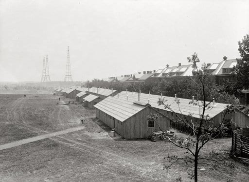 Fort Myer in Arlington, VA (1917)