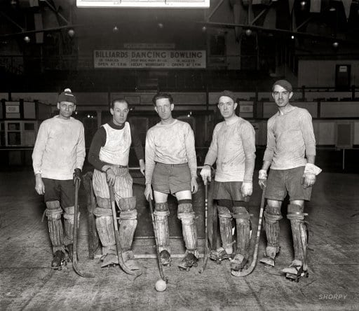 Columbia Heights roller hockey (1926)