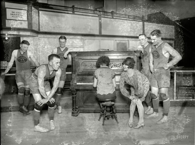 Basketball and learning the Charleston (1926)