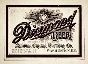 National Capital Beer label (via The Hill is Home)