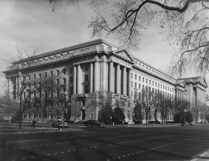 Department of Labor at 14th St. and Constitution Ave. NW (1935)