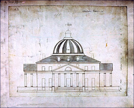President's Palace design by John Collins
