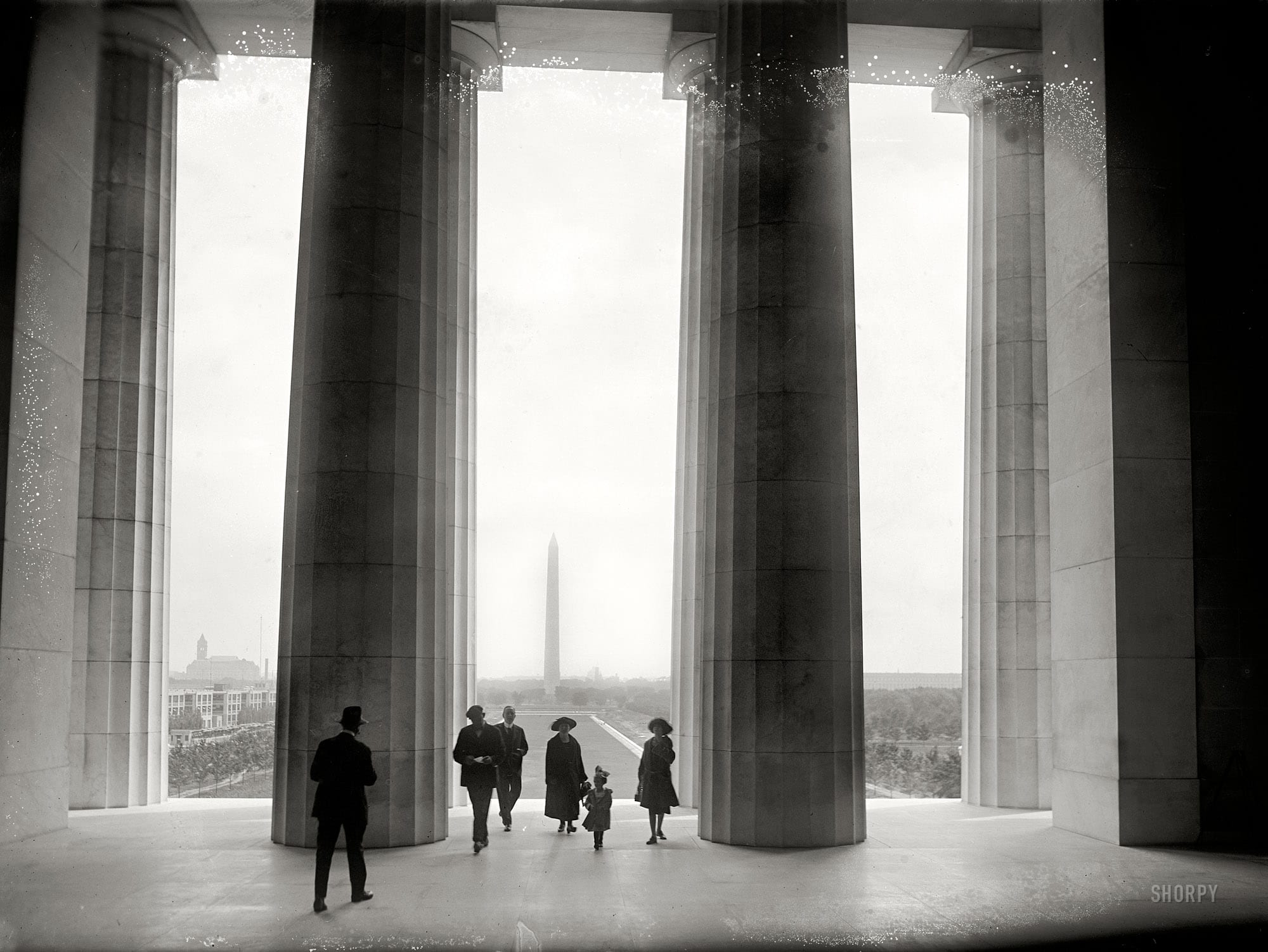 Vista of Monument From Lincoln Memorial