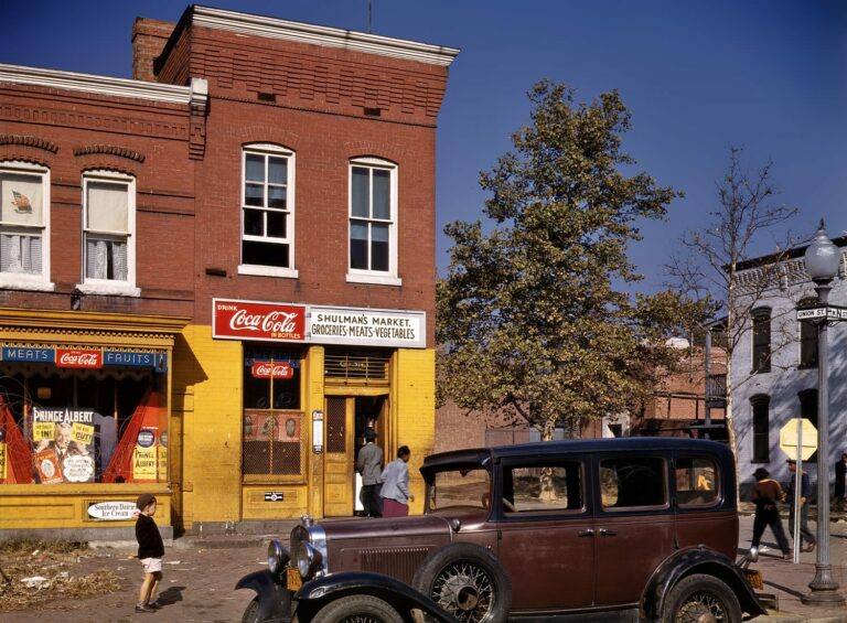 N and Union St. SW (1942)