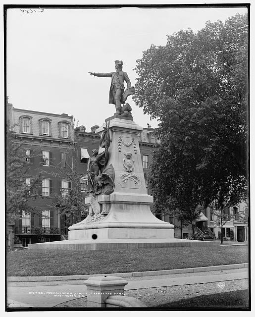 Lafayette Square: Then and Now