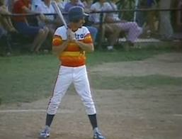 Ron Paul Crushes a Double in Congressional Baseball