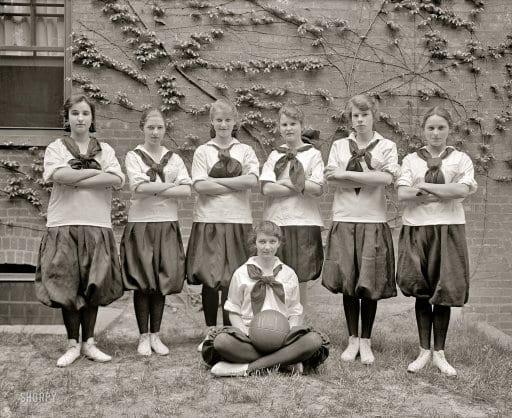 Sidwell Friends girls' basketball team (1917)