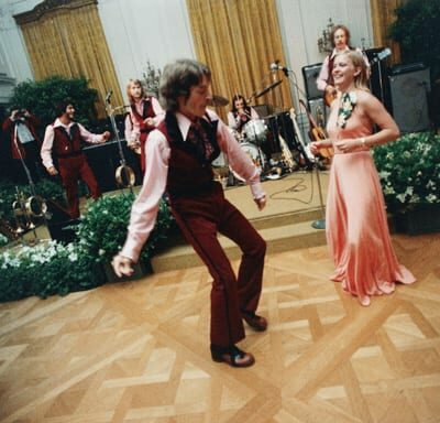 Susan Ford gettin' down in the East Room with her date