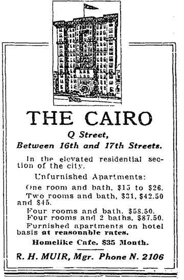 The Cairo advertisement (1915)