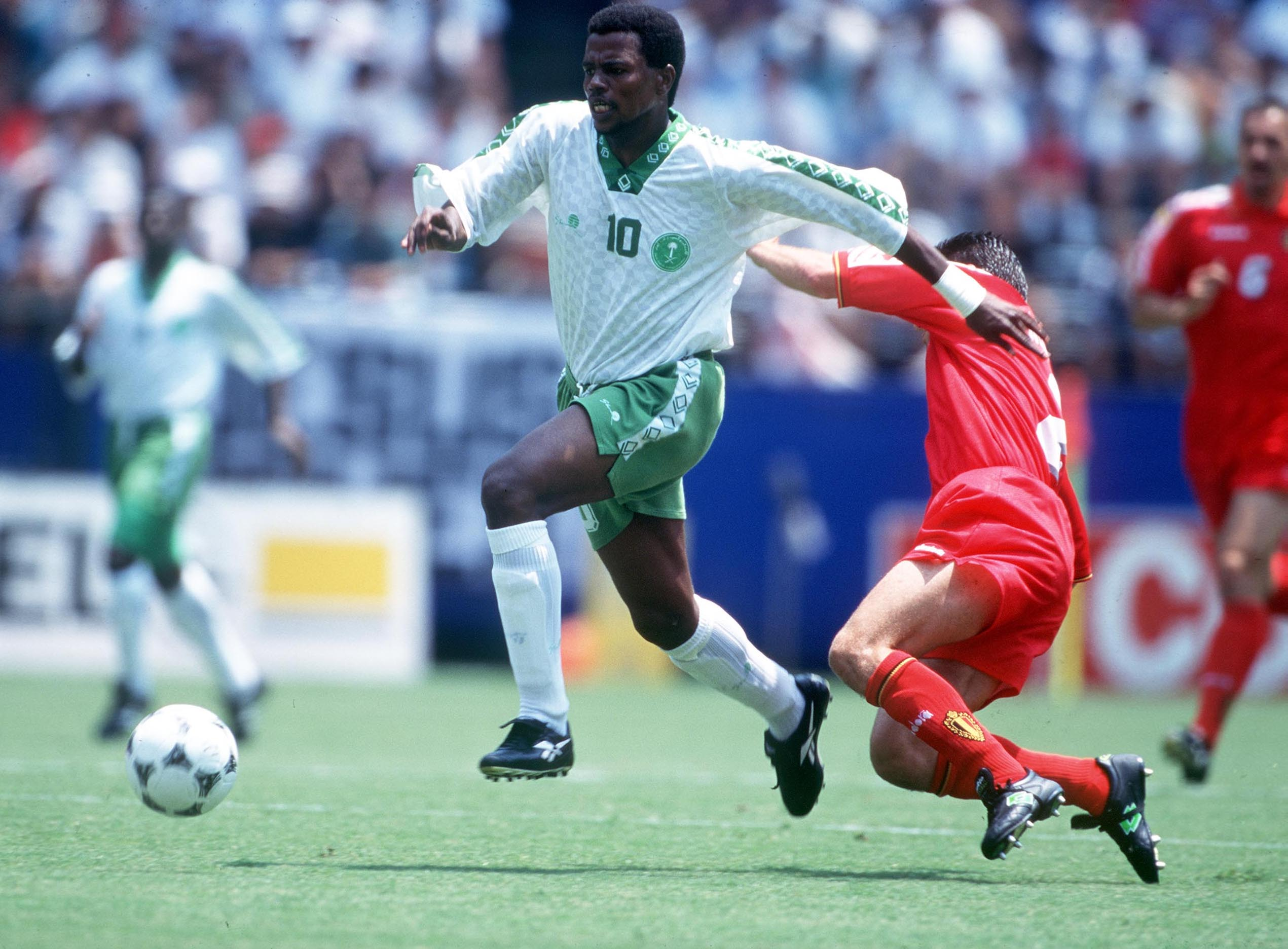 Belgium v. Saudi Arabia: '94 World Cup Game at RFK Stadium