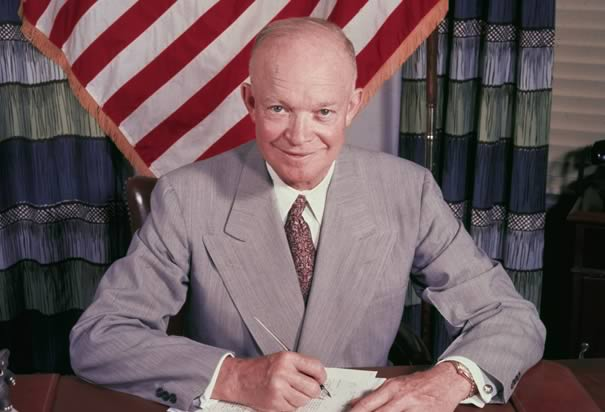 Dwight D. Eisenhower: The First President Videotaped in Color (1958)
