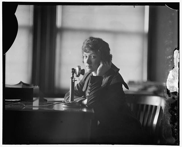 Pauline Floyd in 1922 (Library of Congress)