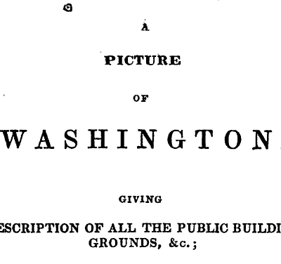 Picture of Washington (1840)