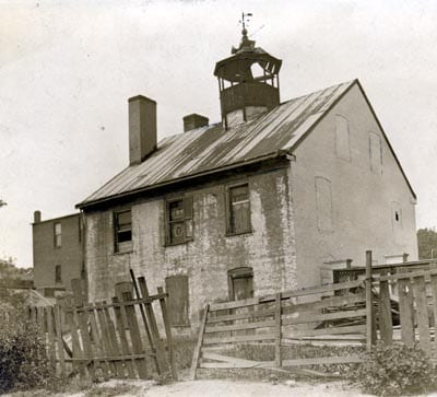 Tunnicliff's in 1931 before it was razed (Historical Society of Washington)
