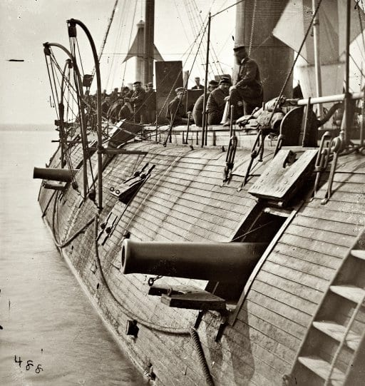 U.S.S. Galena in 1862 (Shorpy)