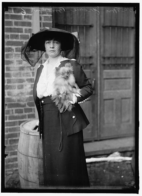 Blanche Bonaparte at same dog show (Library of Congress)