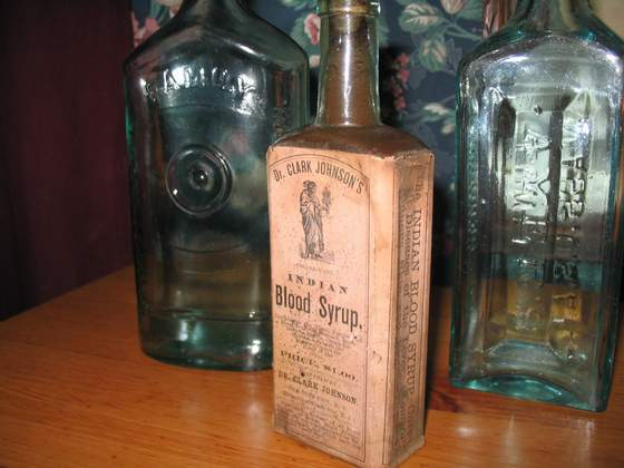 Dr. Johnson's Indian Blood Syrup