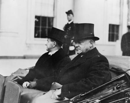 The Inauguration of Herbert Hoover in 1929