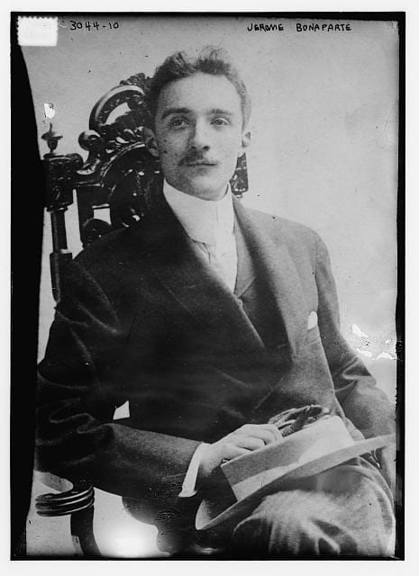 Jerome Bonaparte III, 1910-1915 (Library of Congress)