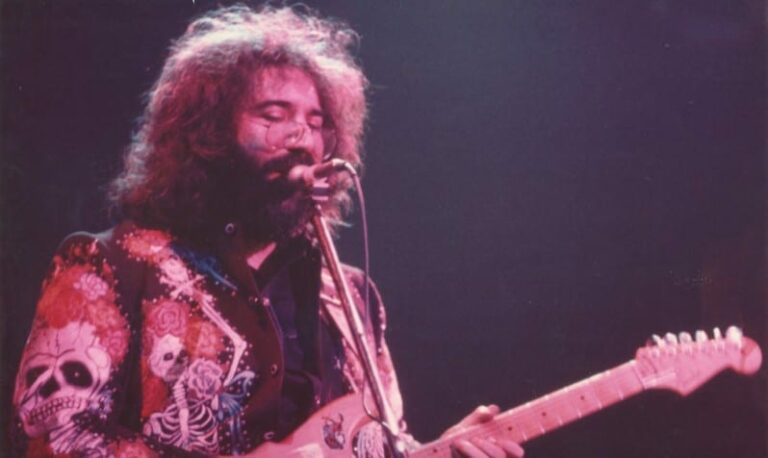 Jerry Garcia at Winterland in 1972