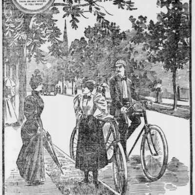 Rambler Bicycles advertisement in the Washington Times - July 31st, 1895