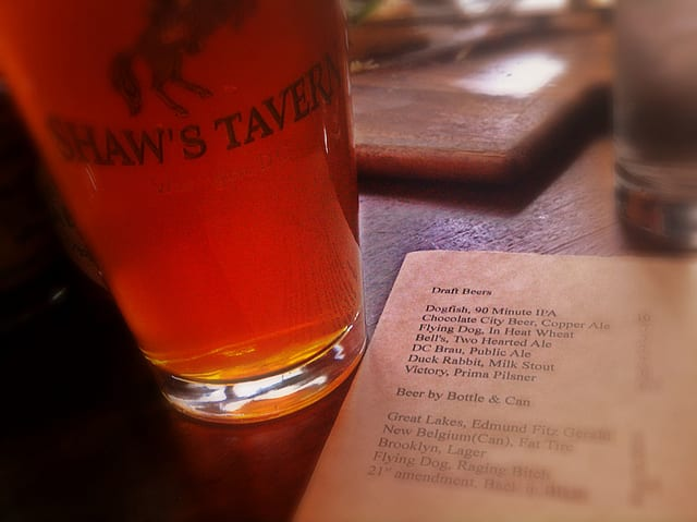 If Walls Could Talk: Shaw's Tavern