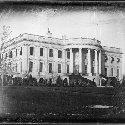Earliest Photograph of the White House