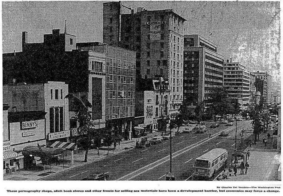 14th St. in the 1970s (Washington Post)