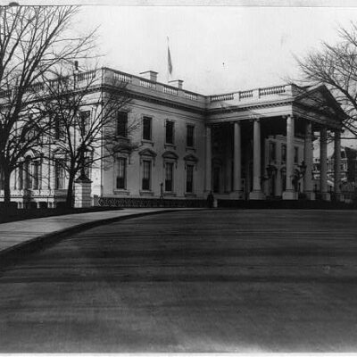 White House north view - 1901 (Library of Congress)