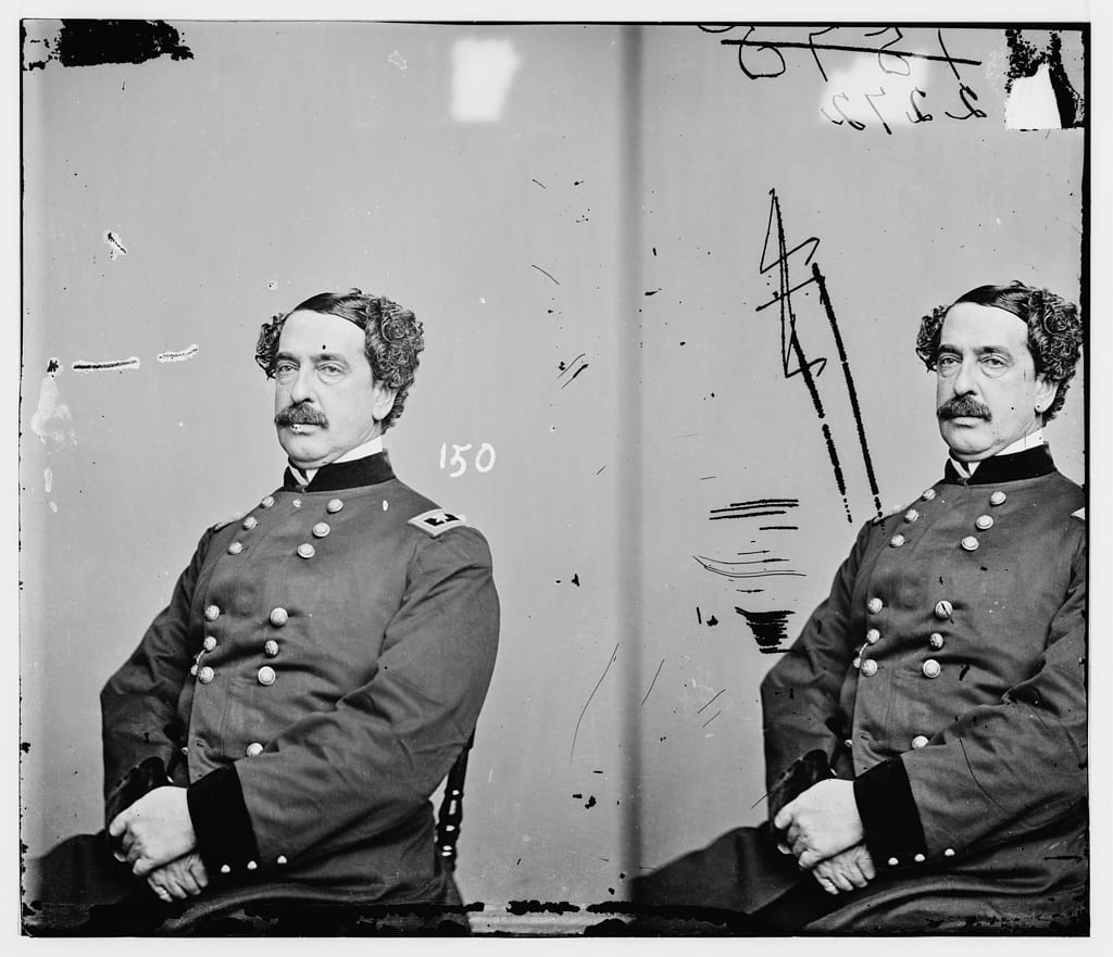 General Abner Doubleday between 1855-1865 (Library of Congress)