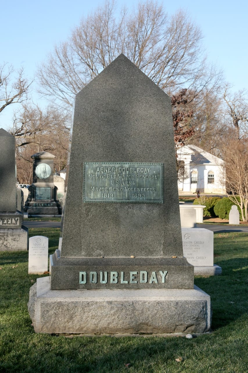 Abner Doubleday at Arlington National Cemetery (Flickr user cliff1066)