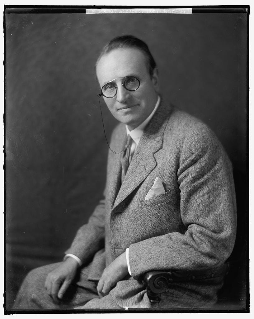 Henry Fountain Ashurst around 1940 (Library of Congress)