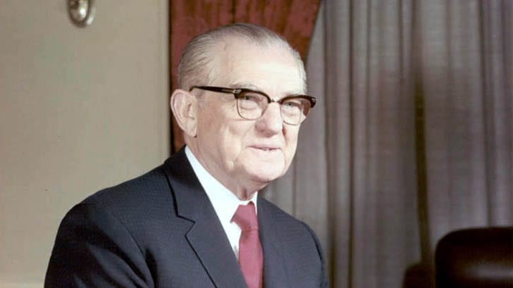 Senator John Stennis Mugged and Shot in Front of Cleveland Park Home