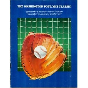 Washington Post MCI Classic - April 5th, 1987