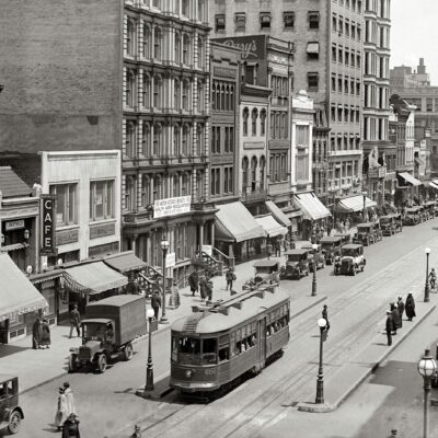 Check Out Metro Center in 1924