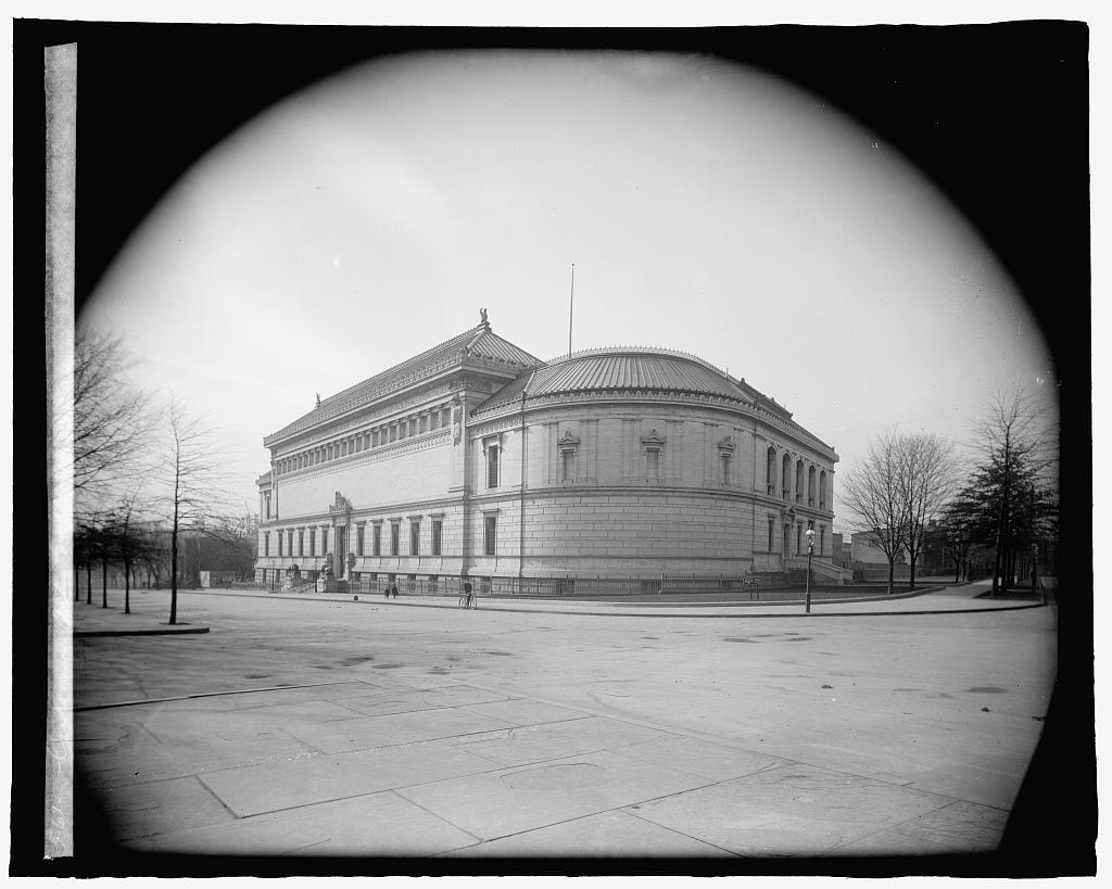 Corcoran Gallery of Art between 1910-1925 (Library of Congress)