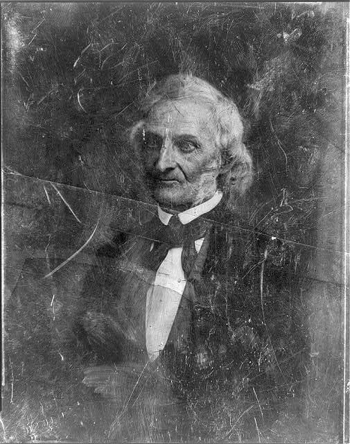 Amos Kendall, half-length portrait, three-quarters to left between 1844 and 1860 (Library of Congress)